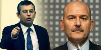 CHP li Özgür Özel den Süleyman Soylu ya: Haddini bil!