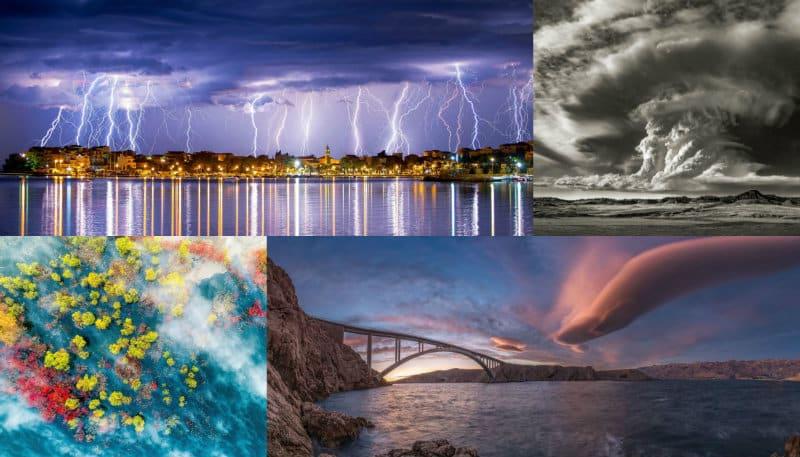 Dünya Meteoroloji Örgütü fotoğraf yarışmasından muhteşem görüntüler
