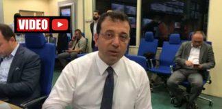 Ekrem İmamoğlu AKOM da deprem ile ilgili açıklama yaptı