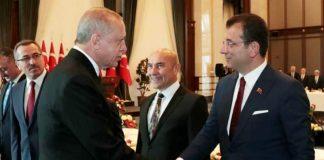 ekrem İmamoğlu ayağı kırılan sandalyeden düştü, Erdoğan Sen kırdın, parasını ödemen lazım dedi