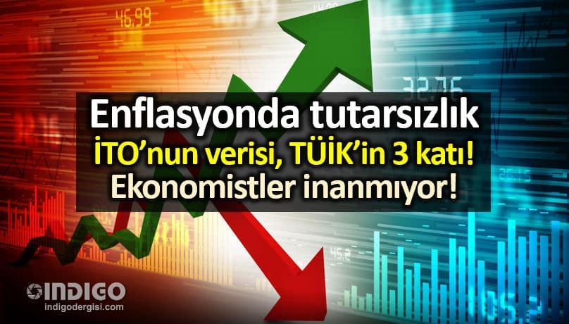 Enflasyon rakamlarında tutarsızlık: Ekonomistler TÜİK'e inanmıyor!