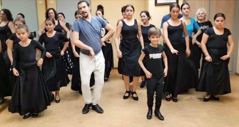 Erik Dalı şarkısı, İspanya'nın Flamenko dansına uyarlandı
