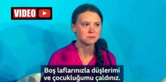 Greta Thunberg birleşmiş milletler konuşması Türkiye dahil 5 ülkeyi BM ye şikayet etti