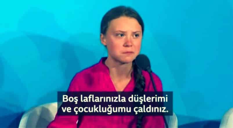 Greta Thunberg, Türkiye dahil 5 ülkeyi BM ye şikayet etti