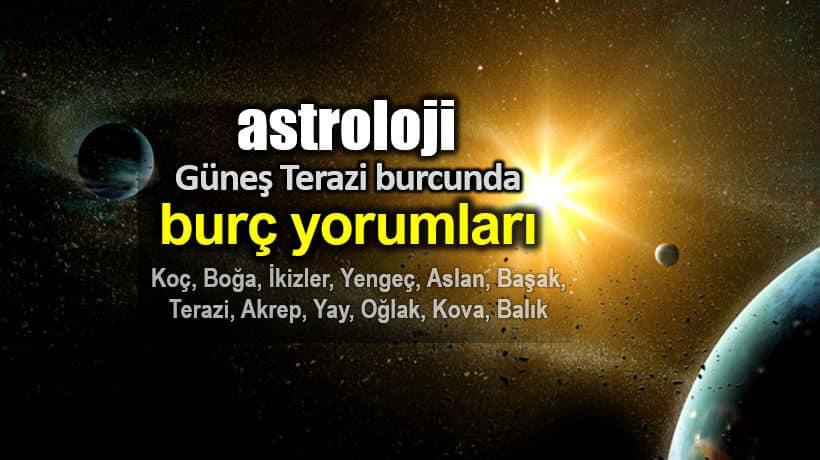 Astroloji: Güneş Terazi burcunda burç yorumları