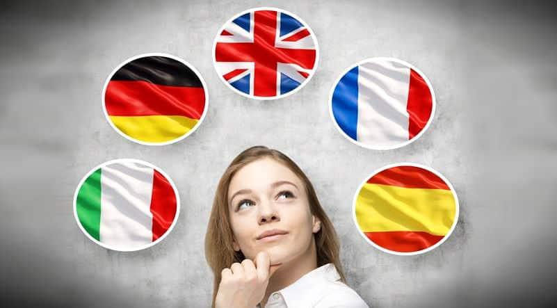 İkinci yabancı dil: İspanyolca, Almanca, Fransızca, İtalyanca