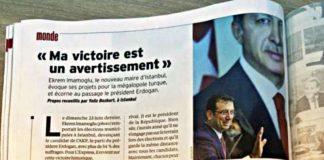 Ekrem İmamoğlu, L Express dergisine konuştu: Benim zaferim bir uyarıdır