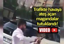 İstanbul düğün konvoyu magandaları tutuklandı!