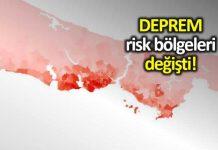 İstanbul Marmara Denizi yakın ilçelerinde deprem tehlikesi arttı! harita