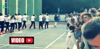 Kadıköy Anadolu Lisesi simit atma görüntülerine inceleme