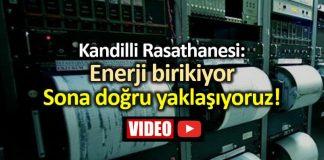 Kandilli Rasathanesi: Enerji birikiyor, sona doğru yaklaşıyoruz!