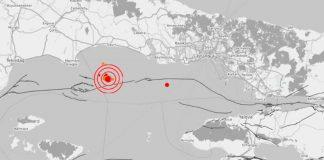 İstanbul Silivri açıklarında bir deprem daha