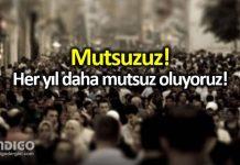 Türkiye mutluluk konusunda 79. sıraya geriledi!