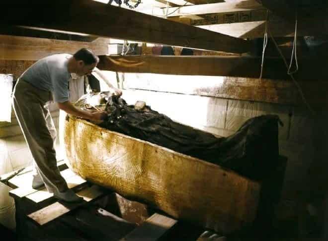 tutankhamon mezar odası