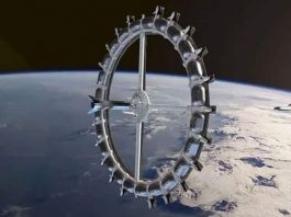 Uzayda tatil: Dünyanın ilk yapay yer çekimli uzay oteli