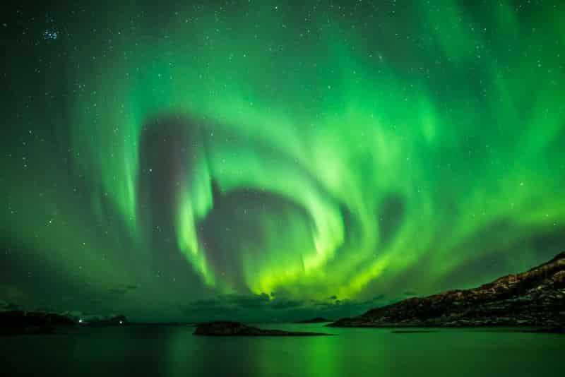 Ruben Weytjens'in Kutup Işıklarının Halkaları' isimli görüntüsü.