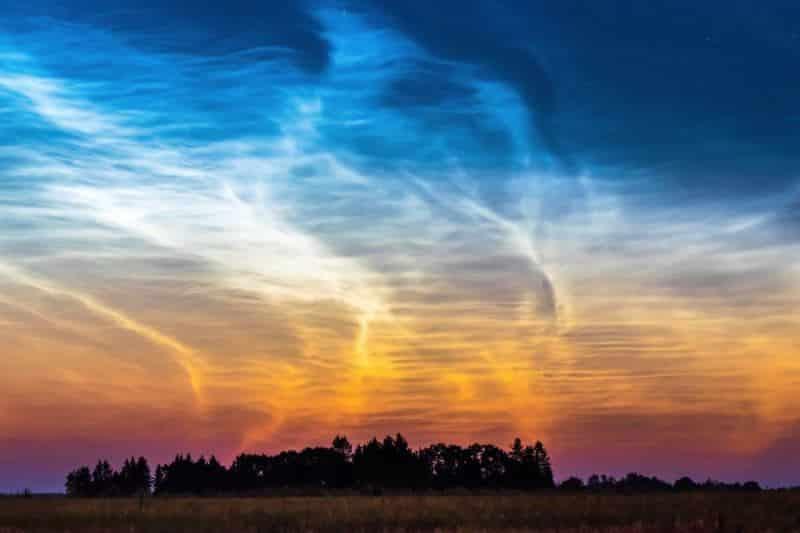 Fotoğrafçı Kairo Kiitsak Parlayan Bulutlar görüntüsü dünya meteoroloji örgütü