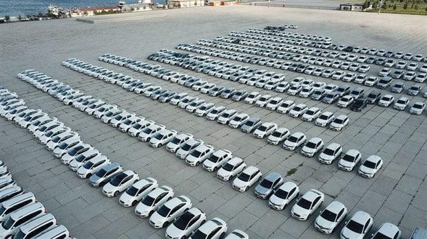 yenikapı sergilenen kiralık araçlar ibb yıllık maliyeti