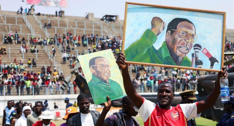 zimbabve mugabe cenaze töreni