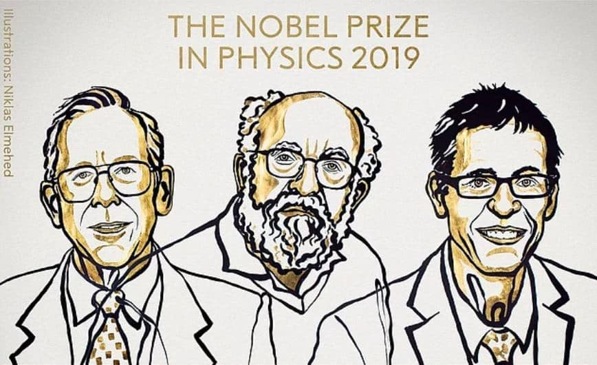 2019 Nobel Fizik Ödülü James Peebles ile Michel Mayor ve Didier Queloz