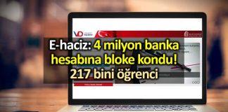 4 milyon banka hesabına e-haciz: Vergi daireleri öğrencilerin banka hesaplarına da çöktü!