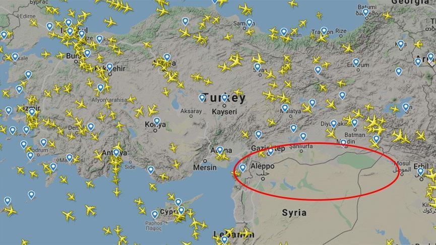 ABD, Suriye'de kontrol ettiği hava sahasını Türkiye'ye kapattı