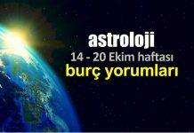 Astroloji:14 - 20 Ekim 2019 haftalık burç yorumları