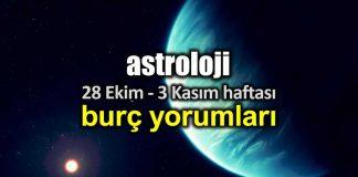 Astroloji: 28 Ekim - 3 Kasım 2019 haftalık burç yorumları
