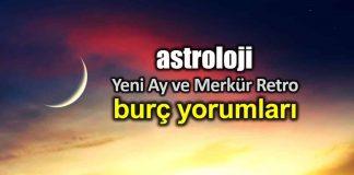 Astroloji: Akrep burcunda Yeni Ay ve Merkür retro burç yorumları