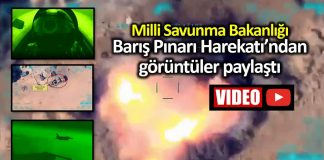 Milli Savunma Bakanlığı Barış Pınarı Harekatı görüntüleri