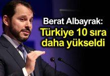 Berat Albayrak: Türkiye iş yapma endeksinde 10 sıra daha yükseldi