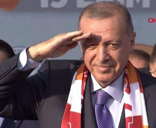 Erdoğan: Son 9 günde ülkemize karşı her türlü çirkinlik sergilendi