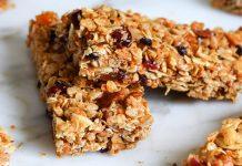 Granola Bar ve pişmeyen fit Brownie tarifi (ev yapımı)