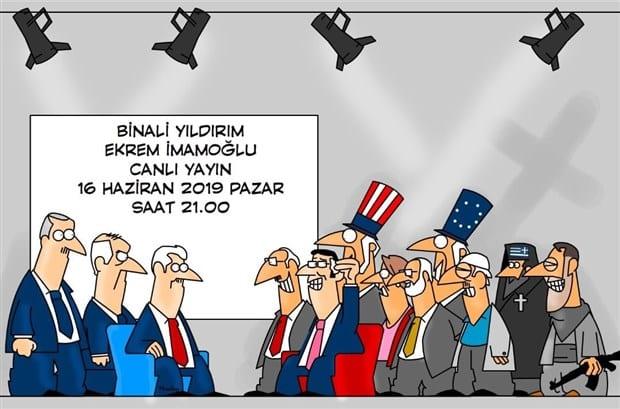 ekrem imamoğlu miralay misvak karikatürü