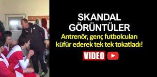 kayseri meysuspor antrenörü halit kurt genç futbolcuları dövdü tokat