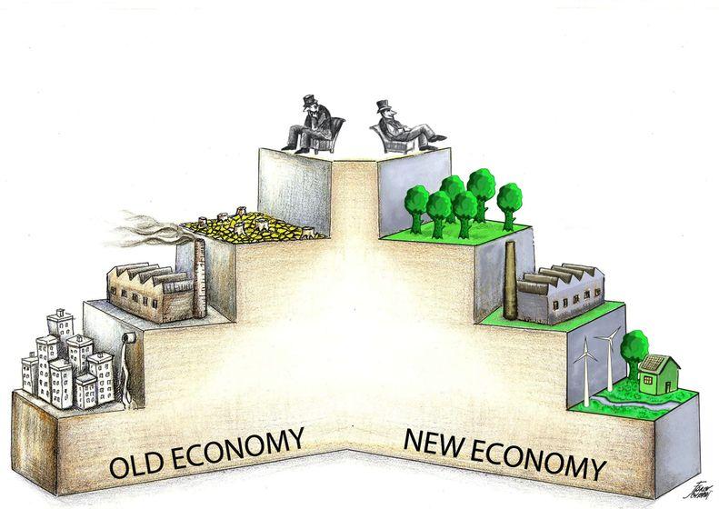 old economy new economy eski ve yeni ekonomi ayn rand