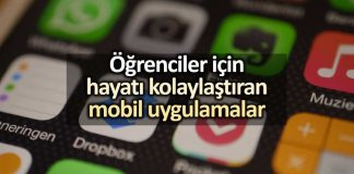 Öğrenciler için hayatı kolaylaştıran favori mobil uygulamalar