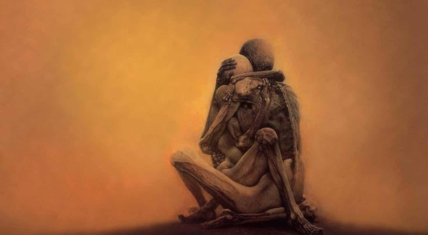 ayn rand Sonsuza kadar sürecek istikrarlı bir dünya hayali Fotoğraf: Zdsizlaw Beksinski