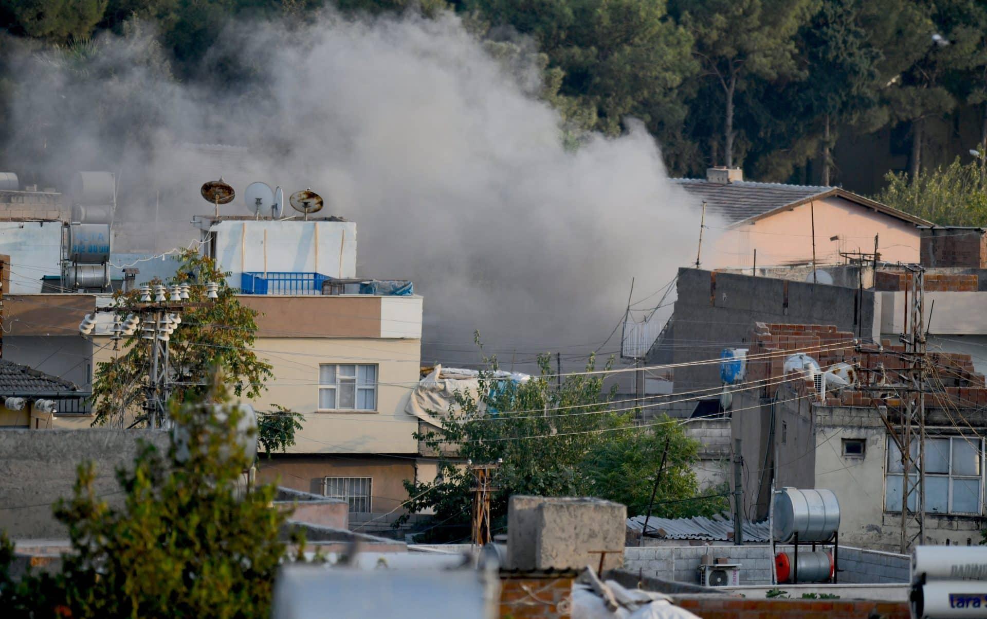 havan saldırısı görüntüleri