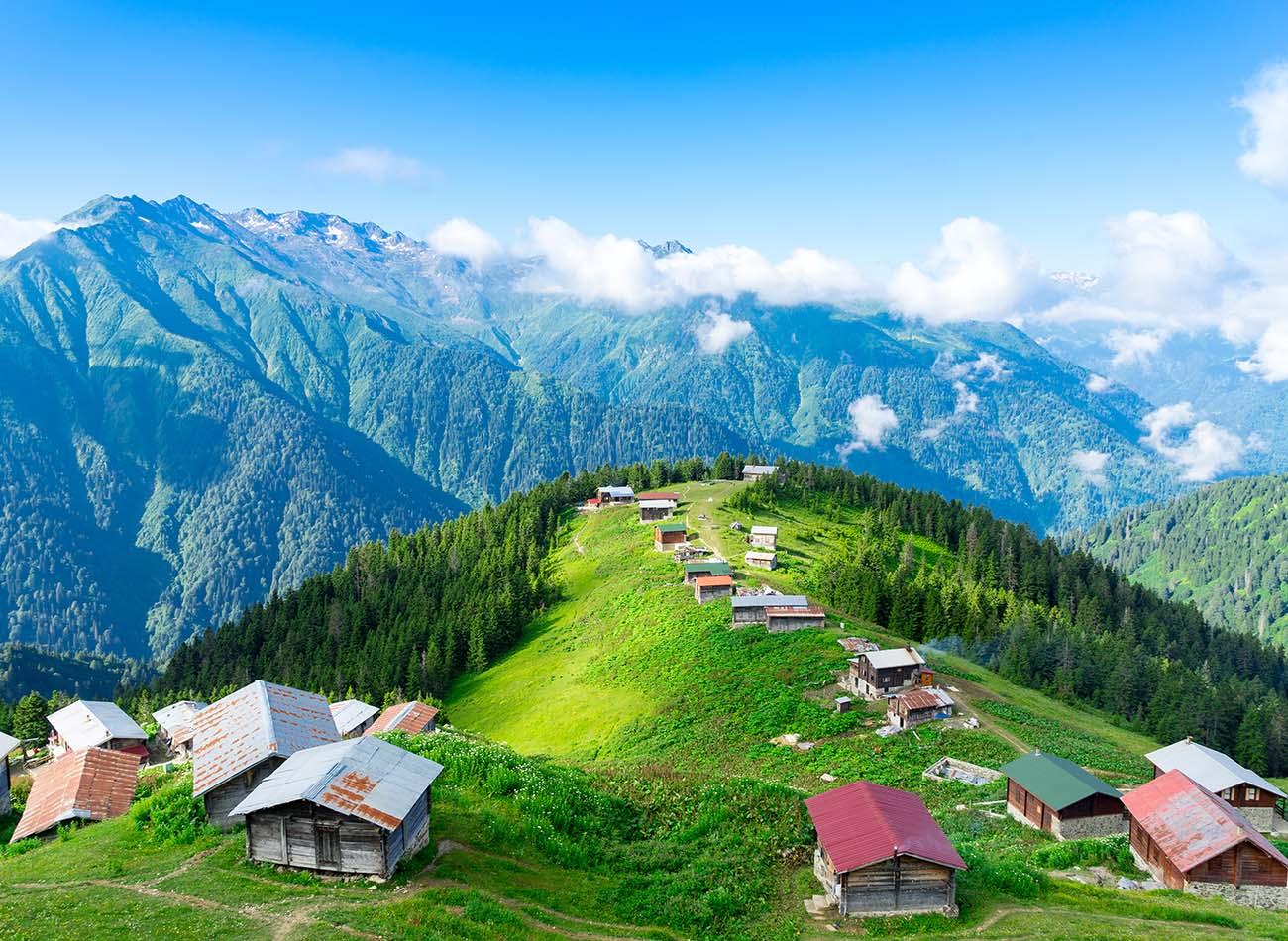 Kaçkar Dağları, Rize doğa harikaları
