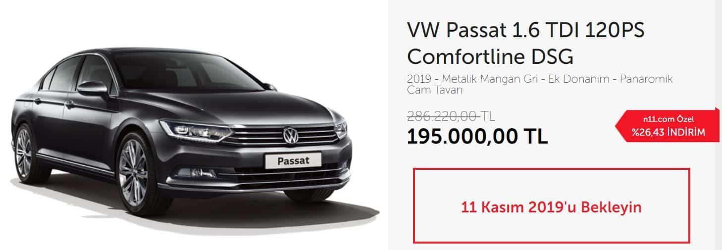 VW Passat 1.6 TDI 120PS Comfortline DSG