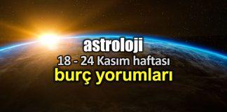 Astroloji: 18 - 24 Kasım 2019 haftalık burç yorumları