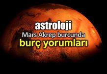 Astroloji: 19 Kasım Mars Akrep burcunda burç yorumları