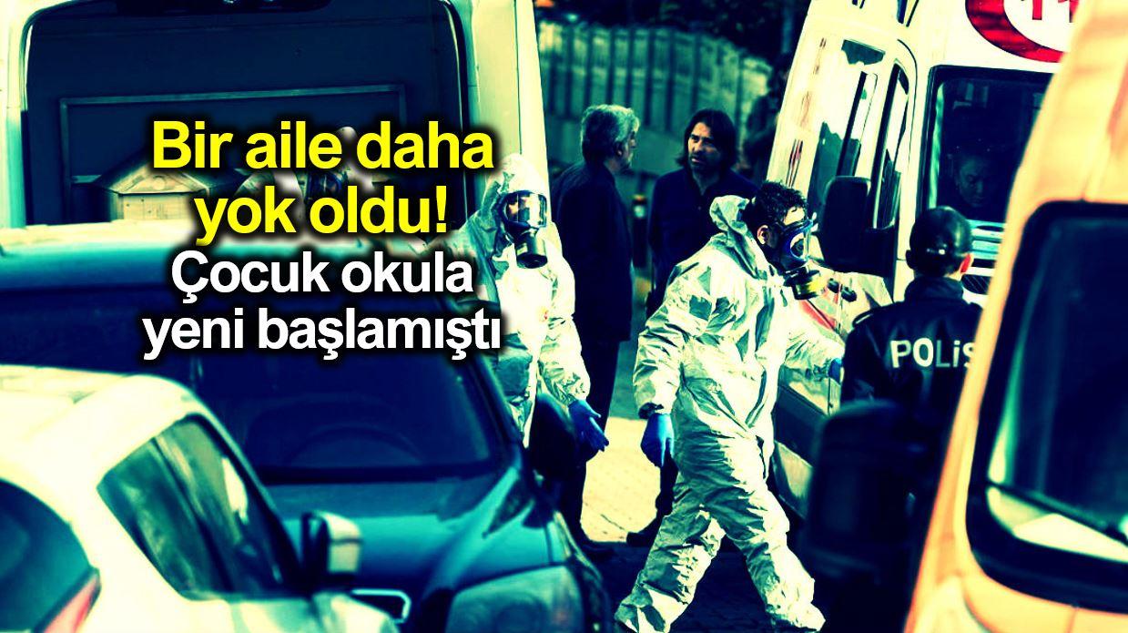 Bakırköy anne baba ve çocuk ölü bulundu: Yine siyanür!