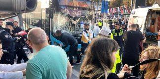 Beşiktaş 3 yolcuyu bıçaklayan otobüs şoförü durağa daldı