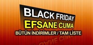 Black Friday Efsane Cuma