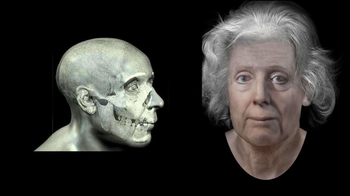 Cadının kafatası üç boyutlu olarak modellendi