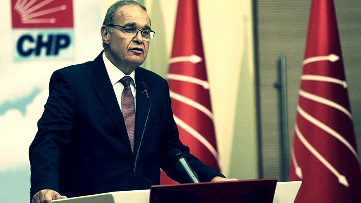 CHP sözcüsü Faik Öztrak: Operasyon saray menşeilidir