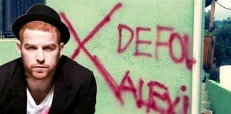 Gökhan Özoğuz İzmir deki Defol Alevi duvar yazısına tepki