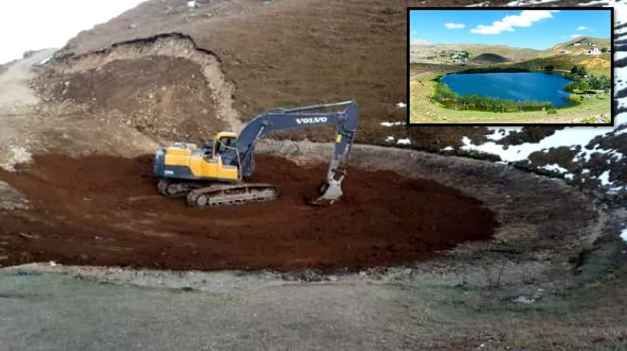 Dipsiz Göl yeniden su tutar mı? Profesör Bektaş, gölün artık doğal olmayacağını söyledi